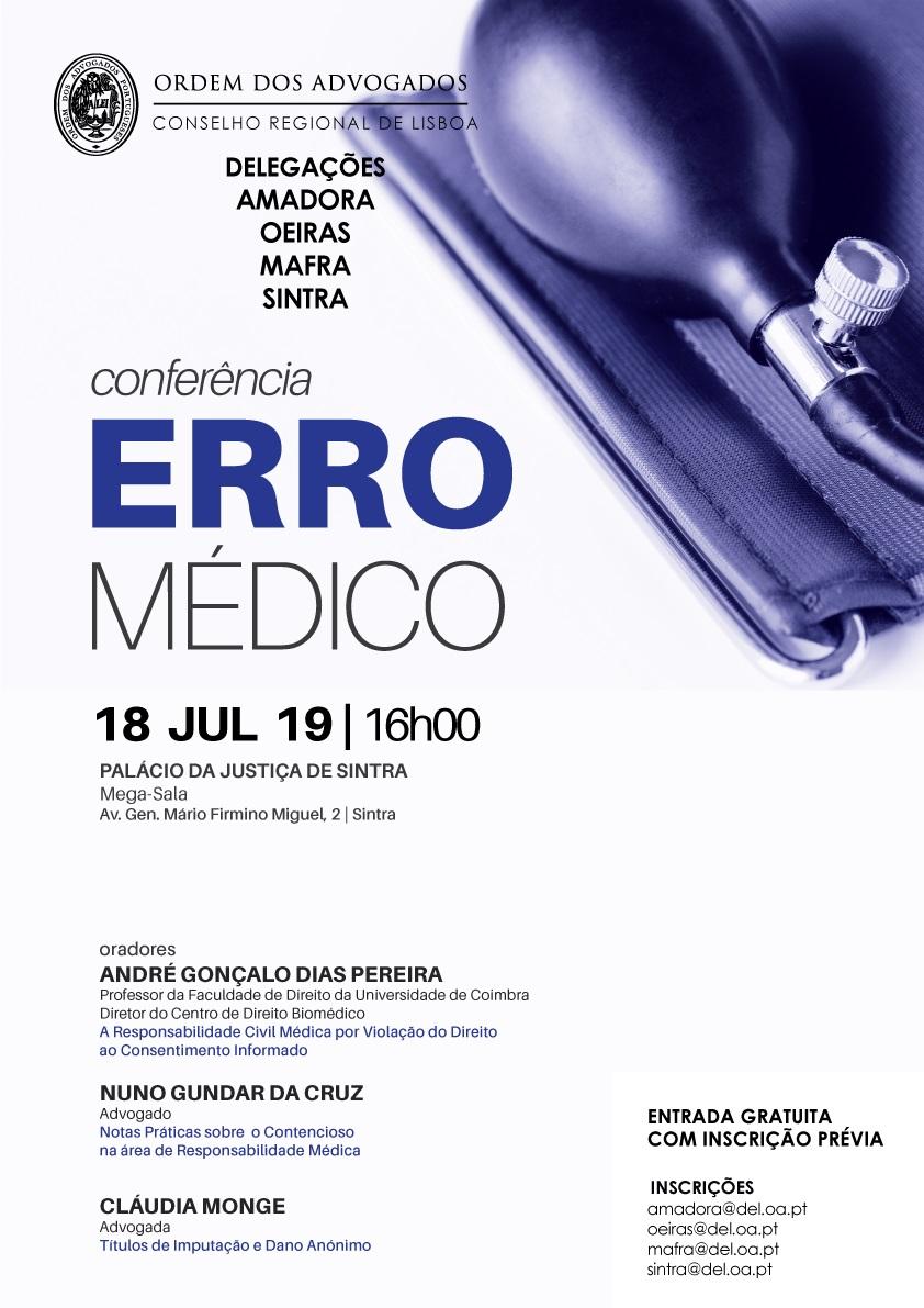 Conferências sobre Erro Médico   Programa